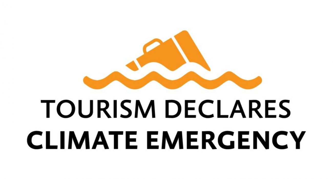 an initiative thatsupports tourism businesses in declaring a climate emergency